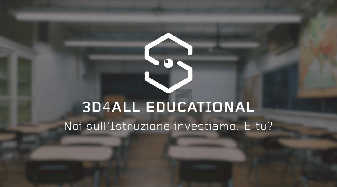3D4ALL EDUCATIONAL – REGOLAMENTO PROMOZIONE